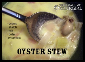 Oyster Stew (They Call Me Oystergirl)