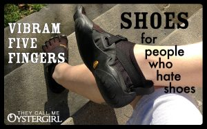 Vibram Five Fingers: Shoes For People Who Hate Shoes