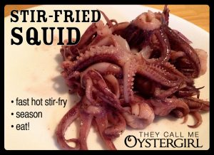 Stir-Fried Squid Recipe
