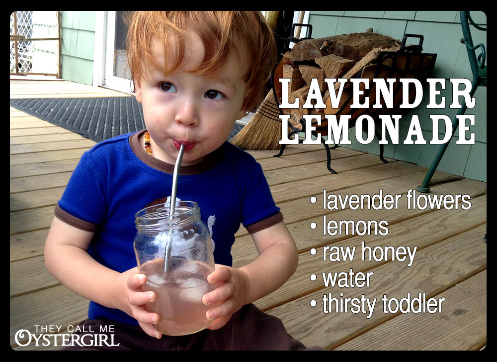 Cold-Brewed Lavender Lemonade with Raw Honey Recipe