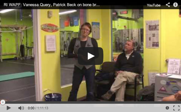 Vanessa Query of They Call Me Oystergirl | Patrick Beck of New England Grass Fed | Weston A. Price Foundation Providence, RI | bone broth and pastured beef