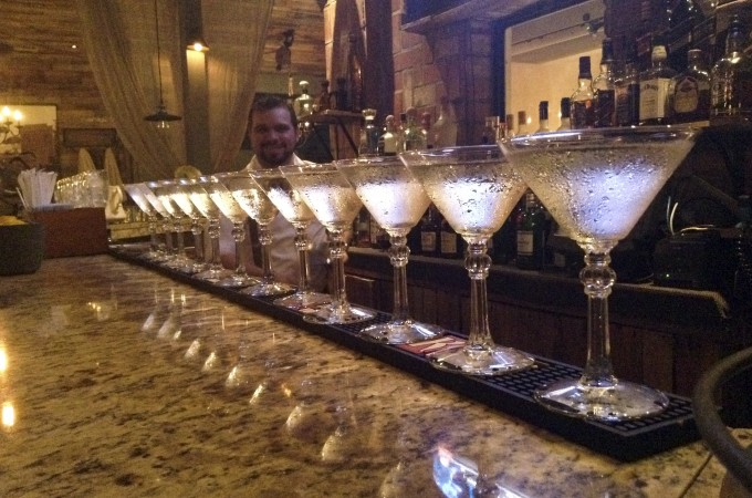 Martinis at Oliva Dieta Mediterranea - About.com - They Call Me Oystergirl