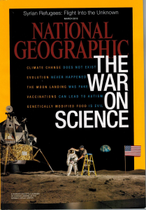 "Thoughts on the ""War on Science"" National Geographic cover"